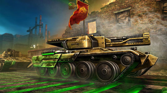 Defend your Flag in Tanki Online