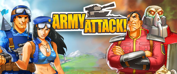 Army Attack - Control massive armies with this Facebook Strategy Game.