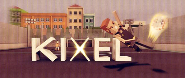 Kixel - Step back in time with this pixel based football game on Facebook.