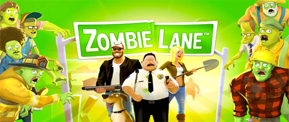 Zombie Lane - Defend your home form the zombie apocalypse in a free Facebook game.
