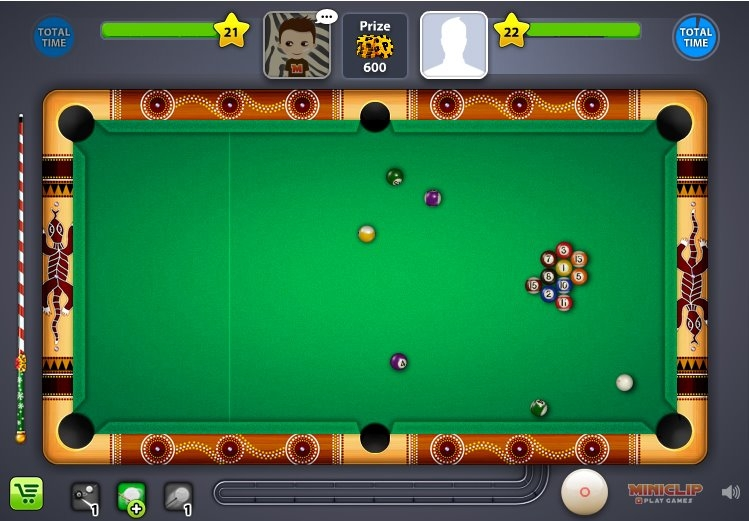 play 8 ball pool game