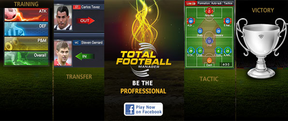 Total Football Manager - Enjoy this amazing management game, and see if you can top the league.