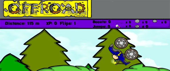 Offroad Online - Enjoy a fun offroad driving game, track your stunts & more.
