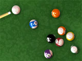 Pool Billiard Gameplay