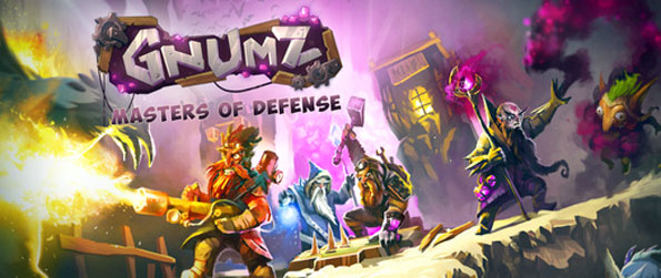 Gnumz: Masters of Defense - Defend your home against the invading gnomes in a brilliant tower defense game.