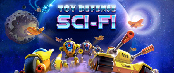 Toy Defense: Sci Fi - Your world is under attack by robots, can you save them in this epic tower defense game.