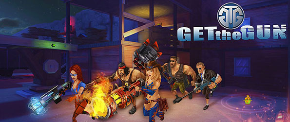 Get the Gun - Immerse over a fast paced third person shooter game that ls fun and exciting to play along with other online players around the world.