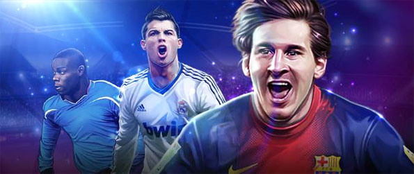 Euro Football - Create a fearsome team of your own to play in the big leagues against some of the best in the world.