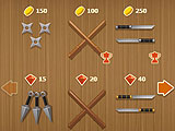 Weapon Upgrades in Shadow Fight