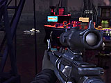 Game World Perpective in Stealth Sniper