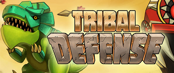 Tribal Defense - Engage over frantic battles as you desolate hordes of incoming pre-historic creatures in this wonderful tower defense game in Facebook.