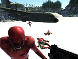 Crash Landed Plane in Zombie Vacation