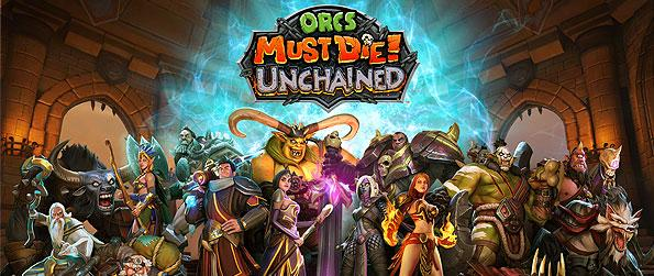 Orcs Must Die! Unchained - Choose from different heroes with different passive abilities to help you strategize a plan of defense in this alluring cross of MOBA, Tower Defense, and CCG - all in one action-packed title.