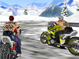 Furious MotoFight snowy map