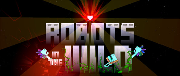 Robots in the Wild - Help the robots of a severely damaged spaceship to retrieve their missing Hearts in this Tetris-like, and tower defense-like game, Robots in the Wild!